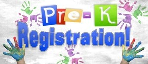 PreK Registration 2020-2021